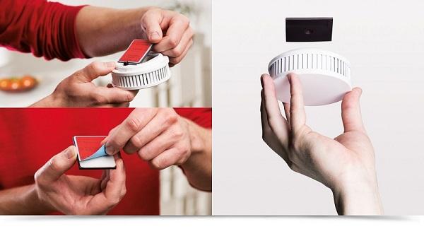 Magnetiga suitsuanduri paigaldamine